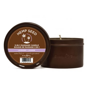 Earthly Body Hemp Candles 6 oz