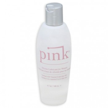 Pink Silicone Lube for Women 4.7 oz