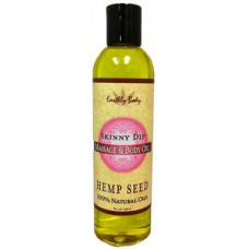 Earthly Body - Hemp Seed Massage Oil 8 oz