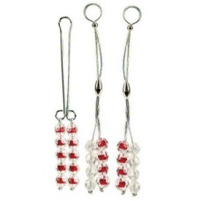 Nipple and Clitoral Non-Piercing Body Jewelry - Ruby