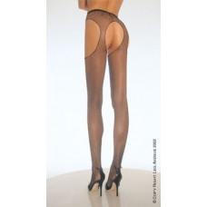 O/S - Fishnet Suspender Pantyhose