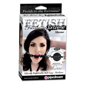 Silicone Breathable Ball Gag - small