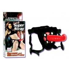 Lover's Super Strap - Harness and Silicone Probe